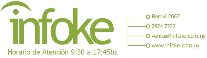 Logo - Infoke, Soluciones informáticas